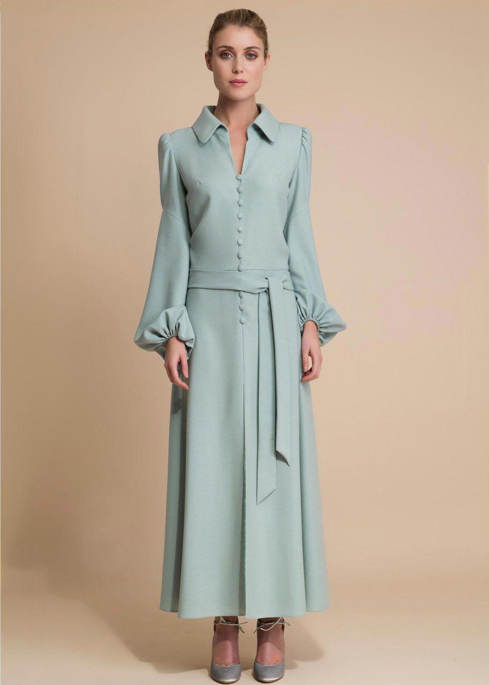 Bill-robe-longue-vintage-bleue1