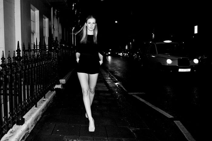 Défilé à Londres 2011.