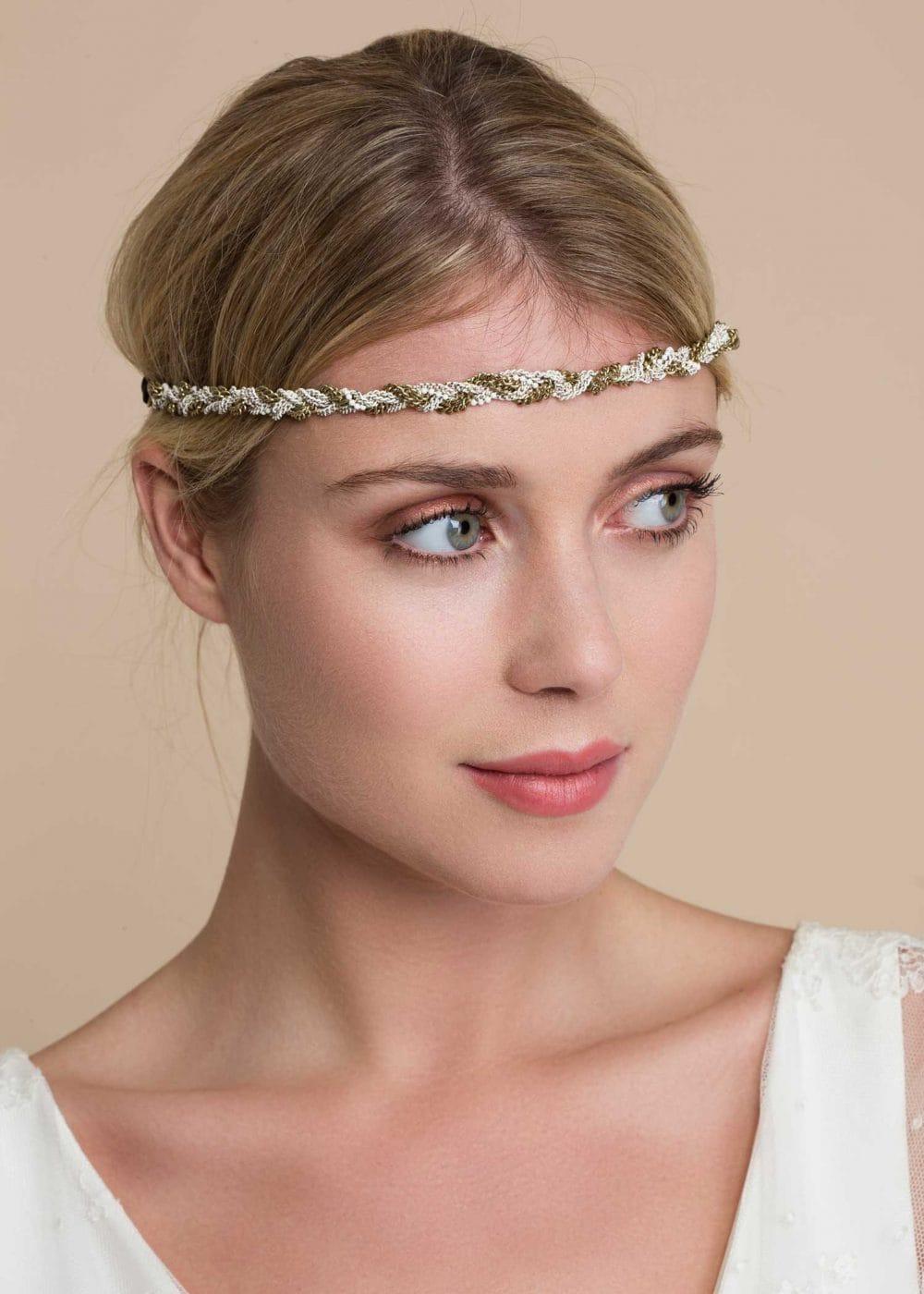 Headband-perles-doré-blanc-antonin
