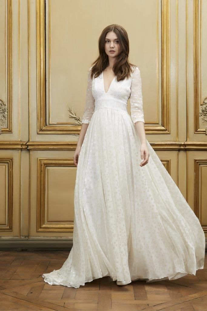 Sarah Jessica Parker Gorgeous In Delphine Manivet French Bridal Designer